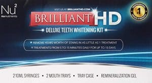 Brilliant HD Deluxe Teeth Whitening Kit 300x164 - What are the Finest Tooth Whitening Merchandise in 2018
