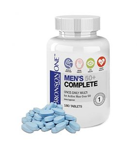 Bronson ONE Daily Mens 50 283x300 - How To Discover The Greatest Nutritional vitamins for Males Over 50