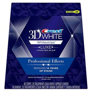 Crest 3D Luxe Whitestrips Professional Effects Teeth Whitening Kit 300x300 - What are the Finest Tooth Whitening Merchandise in 2018