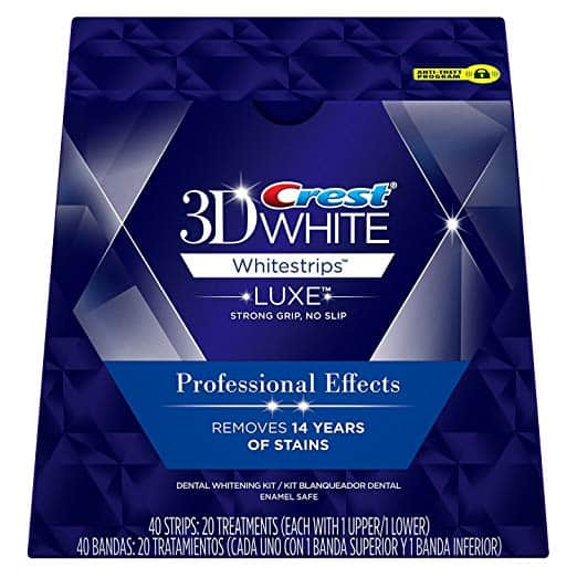 Crest 3D Luxe Whitestrips Professional Effects Teeth Whitening Kit - What are the Finest Tooth Whitening Merchandise in 2018