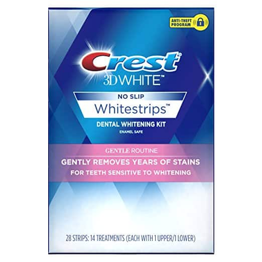 Crest 3D White Whitestrips Gentle Routine Teeth Whitening Kit - What are the Finest Tooth Whitening Merchandise in 2018
