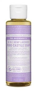 Dr. Bronner Almond Pure Castile Liquid Soap 121x300 - Best Skin Care Supplement for Teenagers