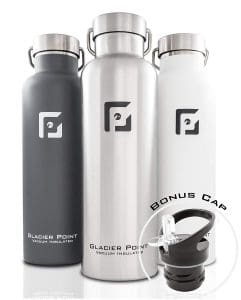 Glacier Point Vacuum Insulated Stainless Steel Water Bottle 241x300 - What Is The Finest Insulated Water Bottle In 2018?