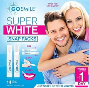 Go Smile Super White Teeth Whitening System Snap Pack Kit 300x298 - What are the Finest Tooth Whitening Merchandise in 2018