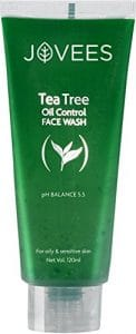 Jovees Tea Tree Oil Control Face Wash 1 122x300 - The Best Exfoliating Cream for Acne Prone Skin