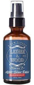 Lather Wood Shaving Co. After Shave Balm e1501063009664 122x300 - The Best After Shaving Cream for Men