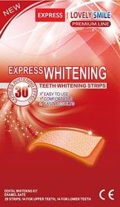 Lovely Smile Premium Line 28 Teeth Whitening Strips 174x300 - What are the Finest Tooth Whitening Merchandise in 2018