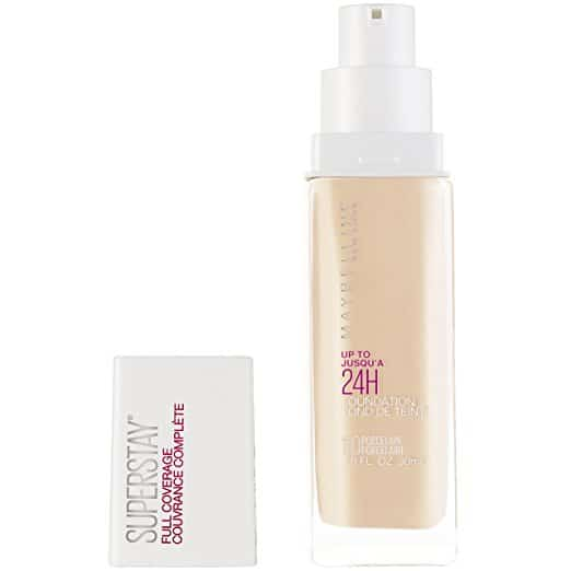 Maybelline SuperStay Full Coverage Foundation - The Finest Full Protection Basis
