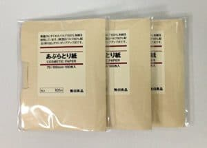 Muji Face Blotting Paper 300x215 - Best Skin Care Supplement for Teenagers