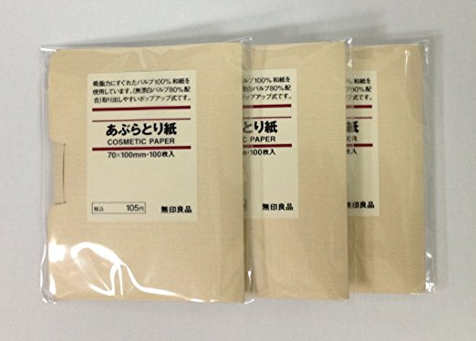 Muji Face Blotting Paper - Best Skin Care Supplement for Teenagers