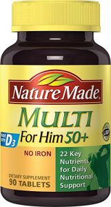 Nature Made Multi For Him 50 161x300 - How To Discover The Greatest Nutritional vitamins for Males Over 50
