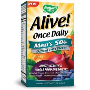 Natures Way Alive Once Daily Mens 50 300x300 - How To Discover The Greatest Nutritional vitamins for Males Over 50