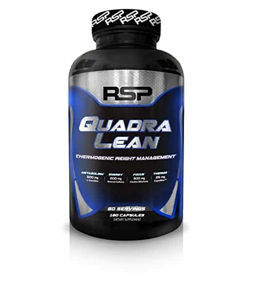RSP QuadraLean Thermogenic - The Best Weight Loss Supplement You Can Buy Online