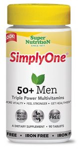 SuperNutrition SimplyOne Mens 50 Multivitamin 157x300 - How To Discover The Greatest Nutritional vitamins for Males Over 50