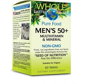Whole Earth Sea Mens 50 Multivitamin Mineral 300x283 - How To Discover The Greatest Nutritional vitamins for Males Over 50