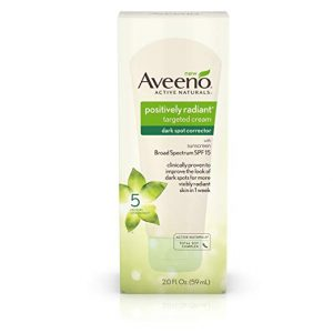 Aveeno Positively Radiant Targeted Cream Dark Spot Corrector with Total Soy Complex 300x300 - The Greatest Darkish Spot Corrector in 2018