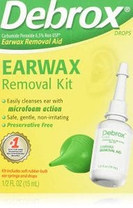 Debrox Earwax Removal Kit 191x300 - What Is The Greatest Method To Take away Ear Wax In 2018