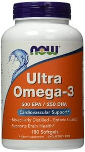 NOW Ultra Omega 3 Fish Oil 168x300 - What Is The Finest Omega Three Complement in 2018