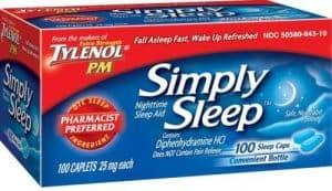 Tylenol Simply Sleep Nighttime Sleep Aid 300x173 - What Is The Greatest Over The Counter Sleep Help?