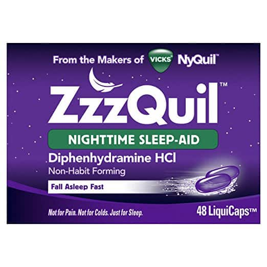 Vicks ZzzQuil Nighttime Sleep Aid - What Is The Greatest Over The Counter Sleep Help?