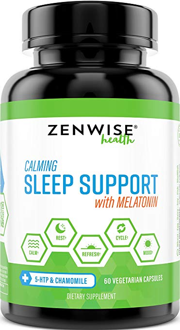 Zenwise Calming Sleep Support - What Is The Greatest Over The Counter Sleep Help?