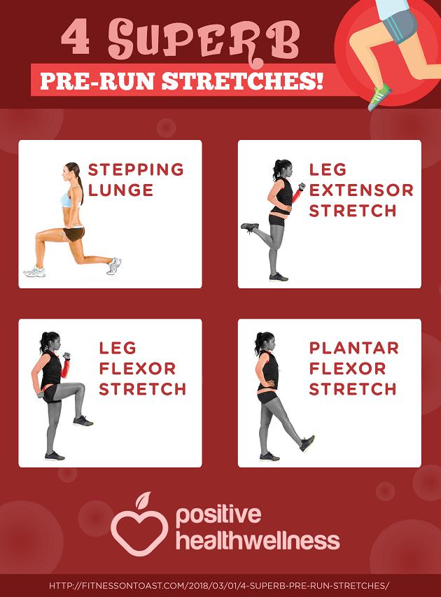 4 Superb Pre-Run Stretches!